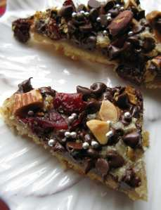 Chocolate Cherry Frangipane Bars