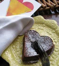 Individual Chocolate Mocha Lava Cakes
