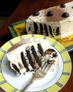 Chocolate Mocha Hazelnut Icebox Cake