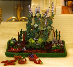 White House Organic Garden in Marzipan